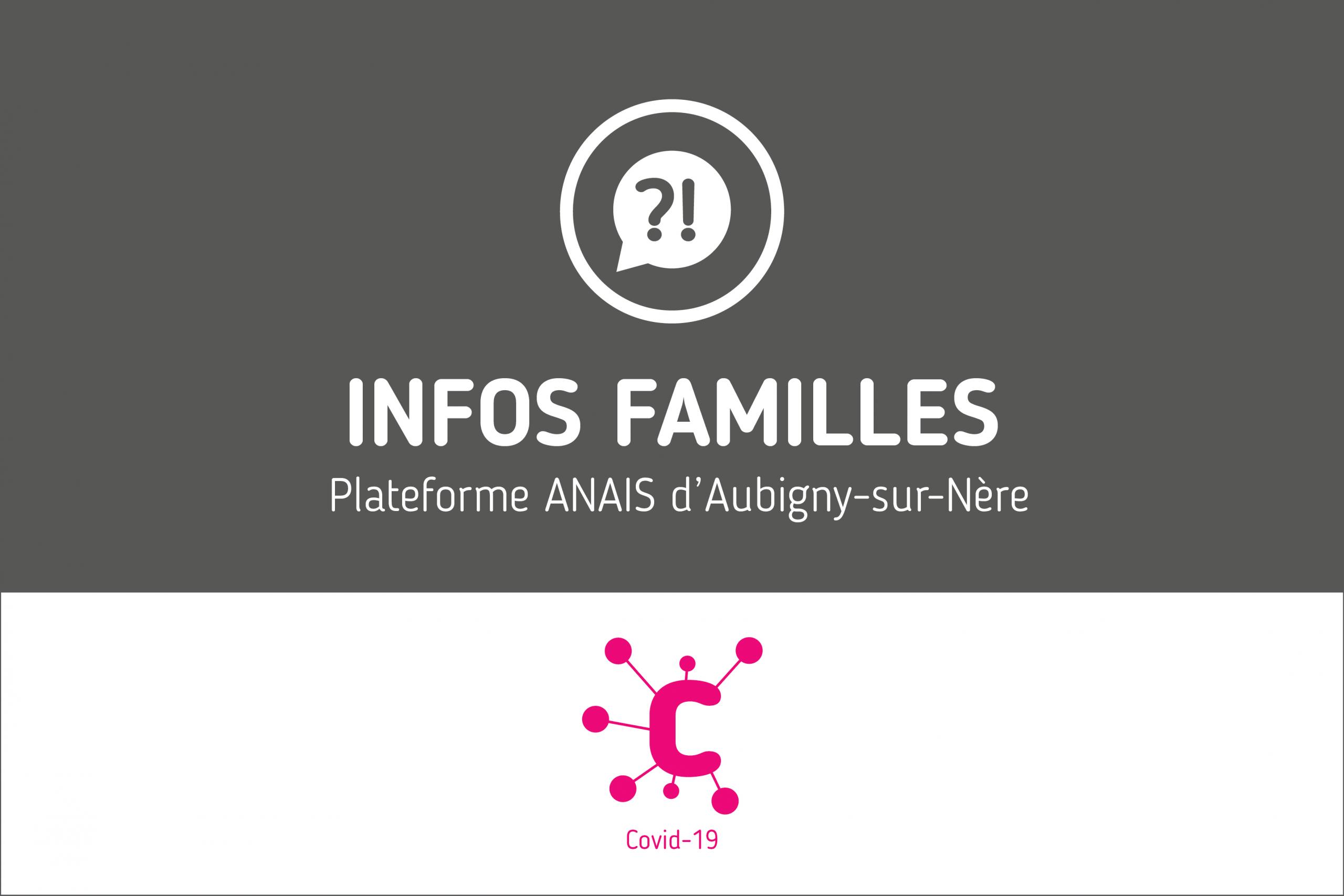 Protégé: Infos familles – Plateforme ANAIS d'Aubigny-sur-Nère