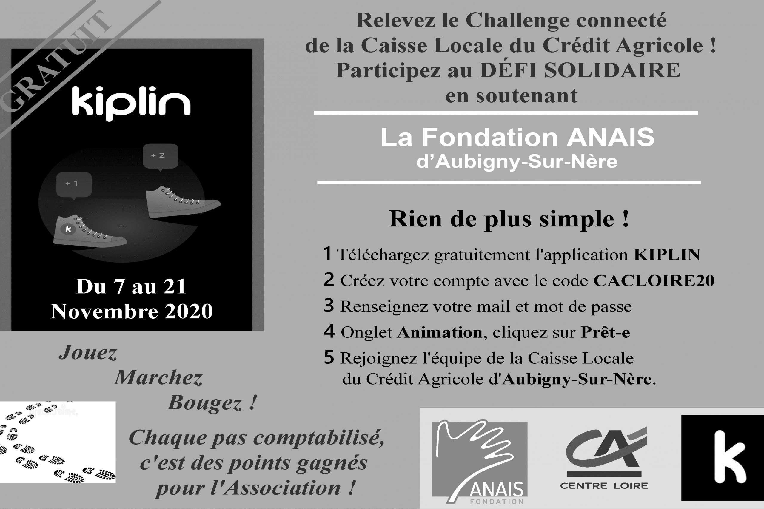 Challenge solidaire !