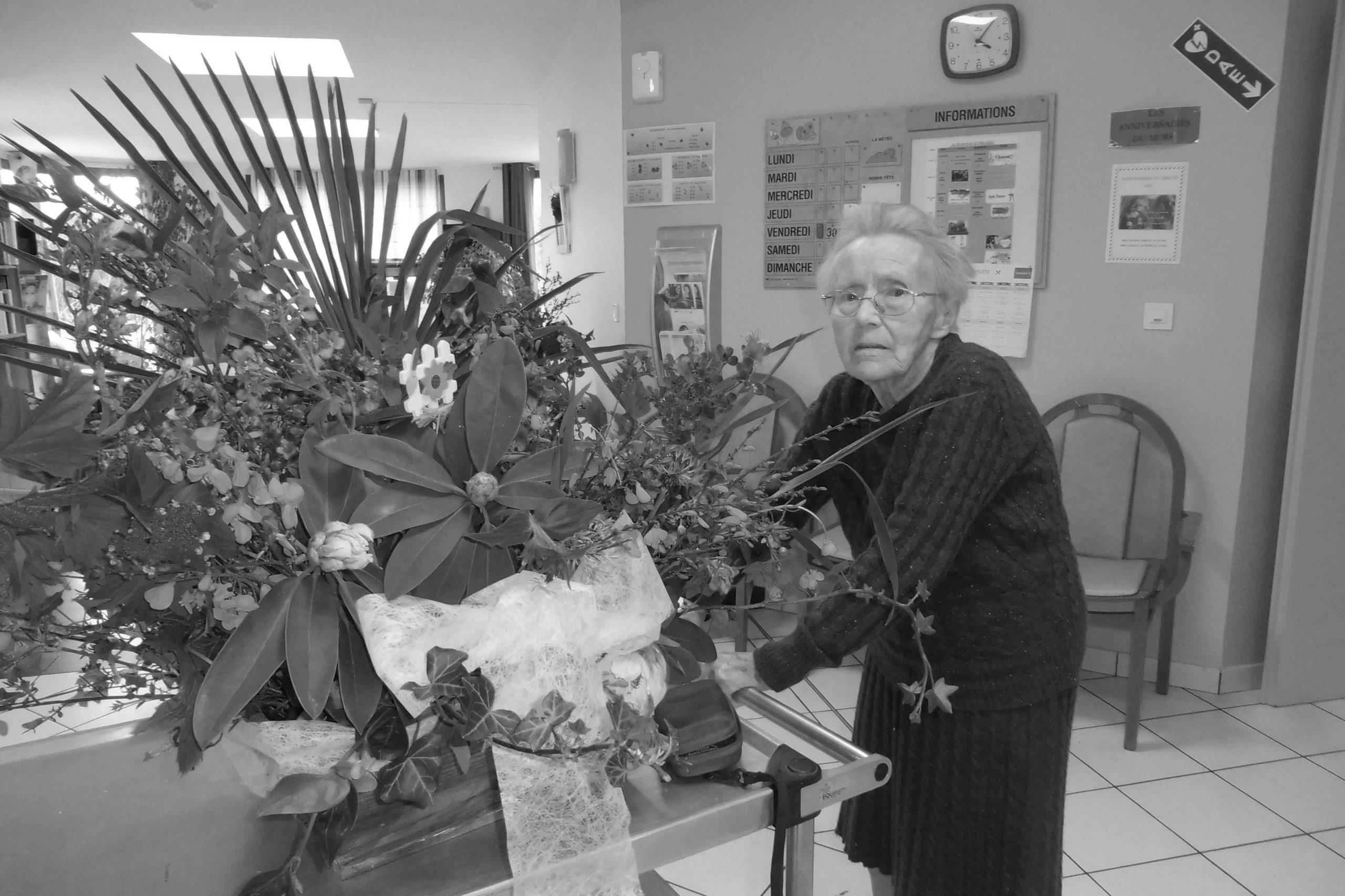Des fleurs pour Anne Marie